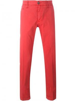Классические брюки-чинос Jacob Cohen. Цвет: красный