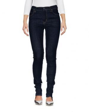 Джинсовые брюки CARHARTT. Цвет: синий
