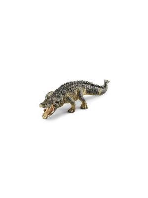 Крокодил SCHLEICH. Цвет: темно-бежевый