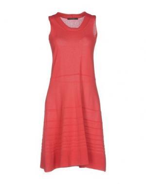 Короткое платье BP STUDIO. Цвет: коралловый