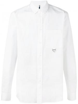 Рубашка с карманом Oamc. Цвет: белый