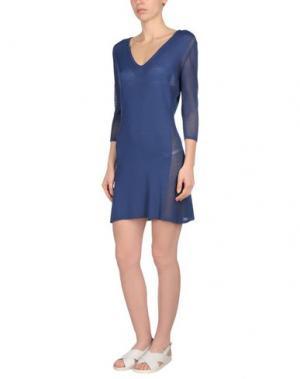 Пляжное платье CHRISTIES. Цвет: синий