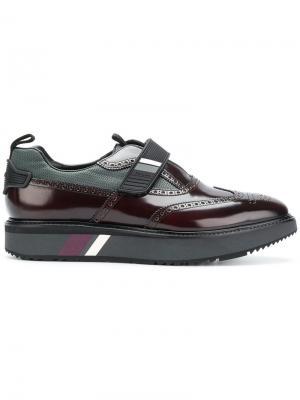 Ботинки дерби Prada. Цвет: розовый и фиолетовый