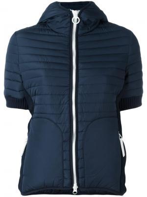 Куртка с короткими рукавами Cyrus Rossignol. Цвет: синий