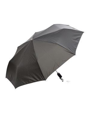 Зонт Slava Zaitsev. Цвет: черный, серый