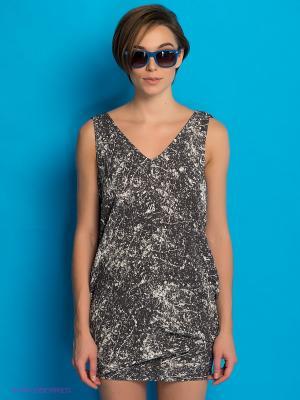 Платье PEPE JEANS LONDON. Цвет: темно-серый, серый