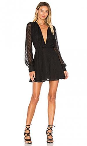 Платье easton Privacy Please. Цвет: черный