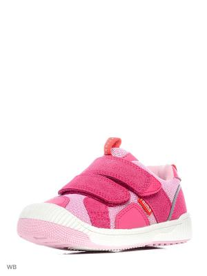 Полуботинки Reima. Цвет: розовый