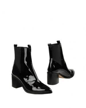 Полусапоги и высокие ботинки MAISON SHOESHIBAR. Цвет: черный