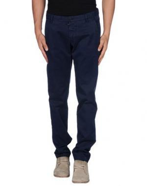 Повседневные брюки NICHOL JUDD. Цвет: темно-синий