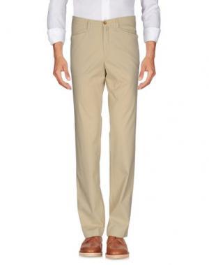 Повседневные брюки MARLBORO CLASSICS. Цвет: бежевый
