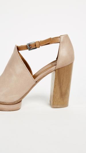 Leash Platform Sandals Coclico Shoes