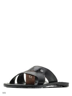Пантолеты ID! Collection. Цвет: черный, коричневый