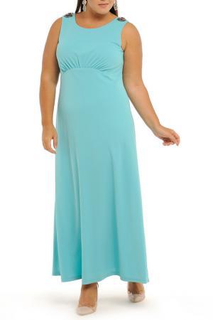 Платье Svesta. Цвет: бирюзовый