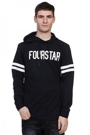 Толстовка  Malto Black Fourstar. Цвет: черный