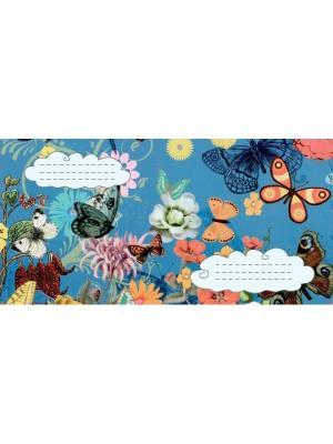 Набор дизайнерских конвертов Бабочки Даринчи. Цвет: белый