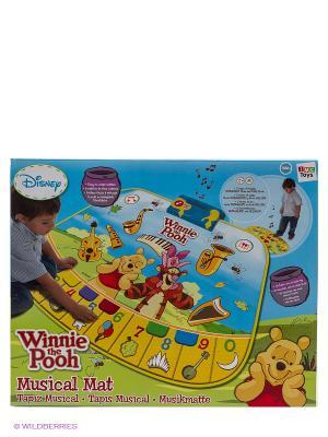 Коврик музыкальный Винни Пух IMC toys. Цвет: голубой, желтый