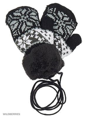 Варежки Mini. Цвет: черный