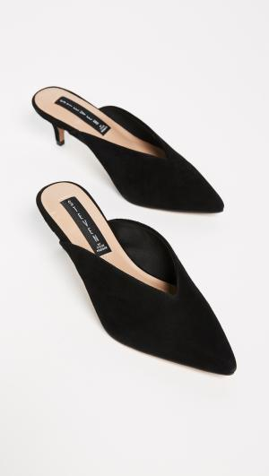 Ainsley Point Toe Mules Steven