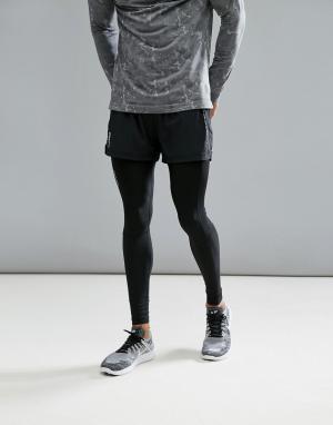 Craft Черные спортивные шорты Sportswear Essential 5 1904800-9999. Цвет: черный