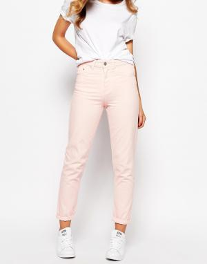 Waven Джинсы в винтажном стиле Elsa. Цвет: розовый