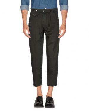 Повседневные брюки JOHN SHEEP. Цвет: зеленый-милитари