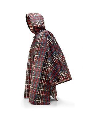 Дождевик Mini maxi wool Reisenthel. Цвет: бордовый