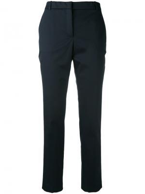 Укороченные брюки Kiltie. Цвет: синий