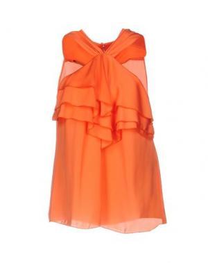 Топ без рукавов ANNARITA N.. Цвет: оранжевый