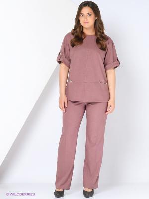 Комплект одежды Amelia Lux. Цвет: сиреневый