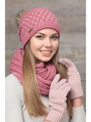 Шапка FOMAS. Цвет: розовый