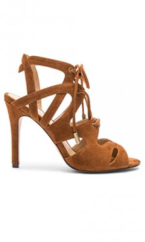 Обувь на каблуке calven Joes Jeans Joe's. Цвет: коньяк