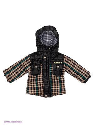 Куртка Kidly. Цвет: черный, зеленый, коричневый