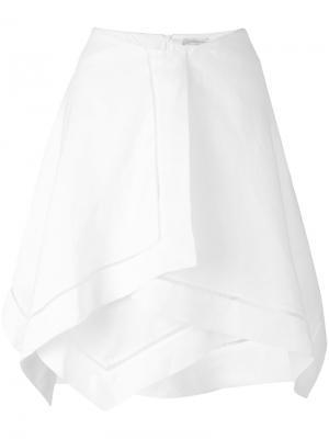 Napkin skirt J.W.Anderson. Цвет: белый