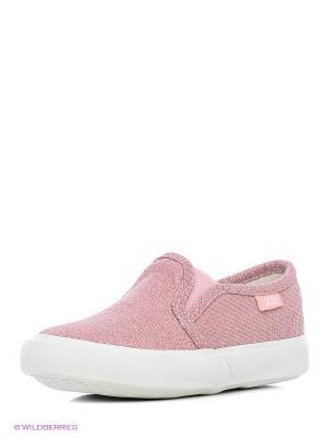 Слипоны XTI. Цвет: розовый