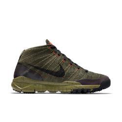 Мужские кроссовки  Flyknit Trainer Chukka SneakerBoot Nike. Цвет: коричневый