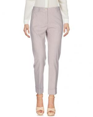Повседневные брюки QL2 QUELLEDUE. Цвет: фиолетовый