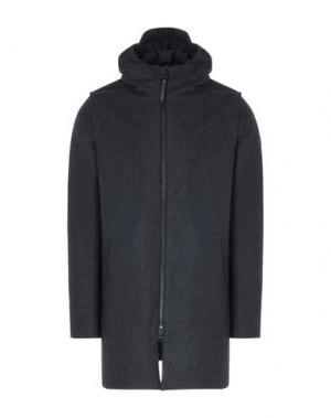 Пальто RVLT/REVOLUTION. Цвет: стальной серый