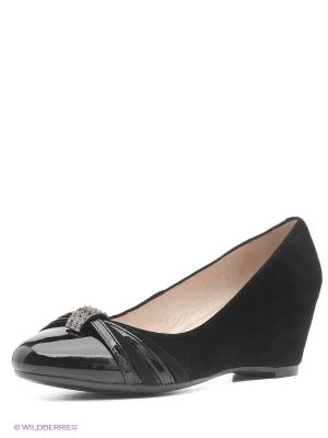 Туфли Moda Donna. Цвет: черный
