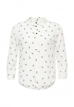 Блуза Befree. Цвет: белый