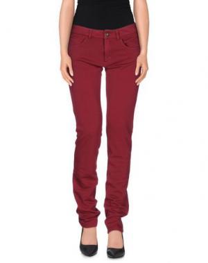 Повседневные брюки PRAIO. Цвет: пурпурный