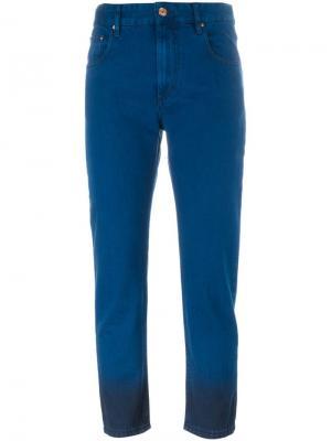 Двухцветные джинсы Priest Isabel Marant Étoile. Цвет: синий