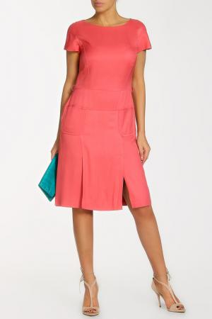 Платье Alberta Ferretti. Цвет: розовый