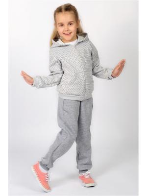 Спортивные штаны Храбрый заяц Emily Rise. Цвет: серый