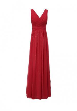 Платье To be Bride. Цвет: красный