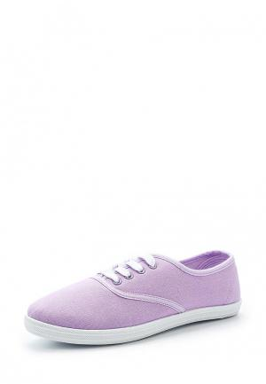 Кеды Modis. Цвет: фиолетовый