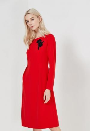 Платье Self Made. Цвет: красный