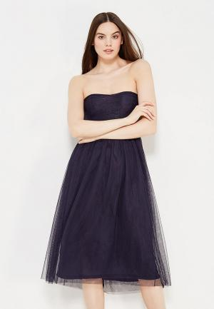 Платье Only. Цвет: синий