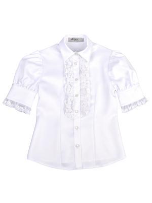 Блузка Born. Цвет: белый