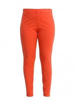 Джинсы Fiorella Rubino. Цвет: оранжевый